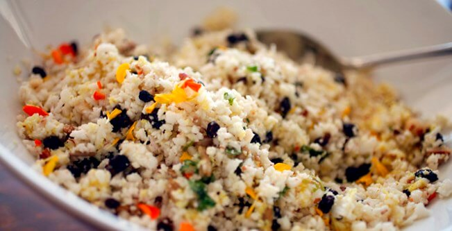 Gowing's Raw Cauliflower Couscous