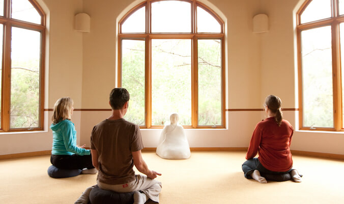 Taking a Mindful Meditation Class