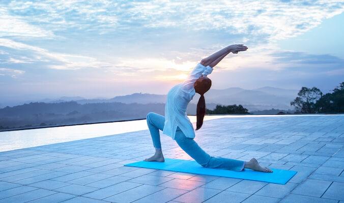 Yoga for Knee Arthrosis