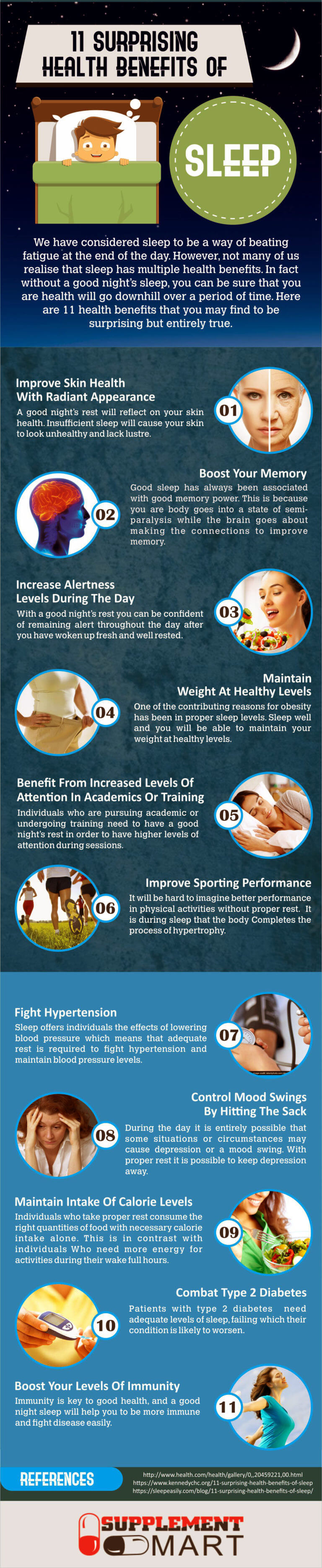Surprising Health Benefits of Sleep