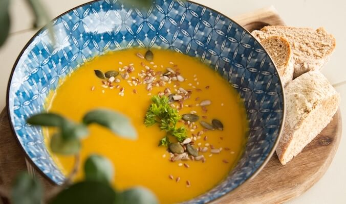 Ayurvedic Carrot Ginger Soup Recipe