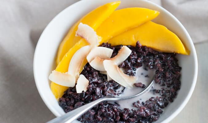 Easy & Wholesome: Black Rice Pudding