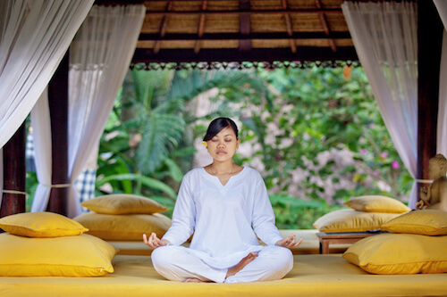 meditation for healthy skin