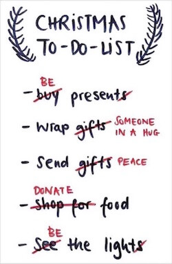 mindful christmas to do list 2