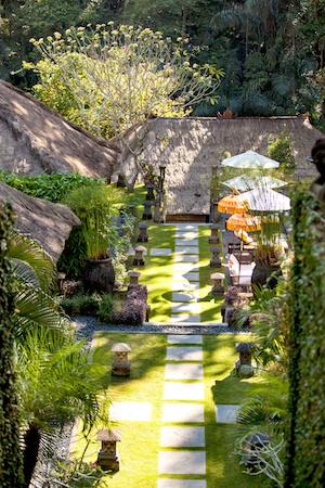 Sukhavati Bali gardens