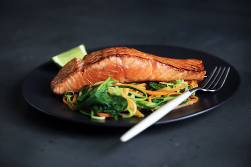oily fish for anti-aging