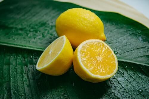 diy lemon rub