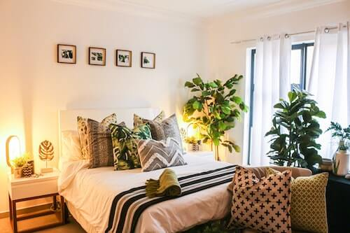 bedroom as self-care sanctuary