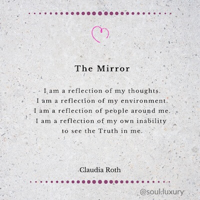The Mirror by Claudia Roth