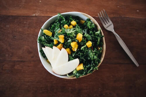 leafy greens as anti aging food