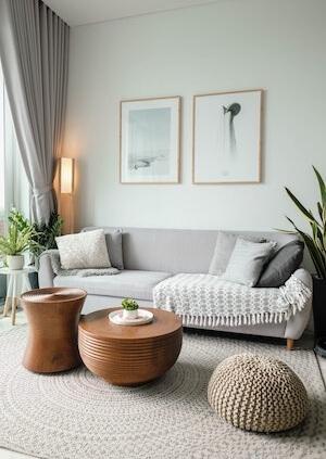serene living space