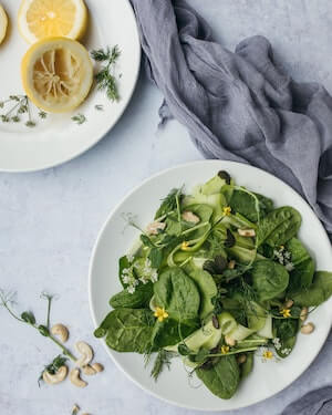 leafy greens for a heart-healthy diet
